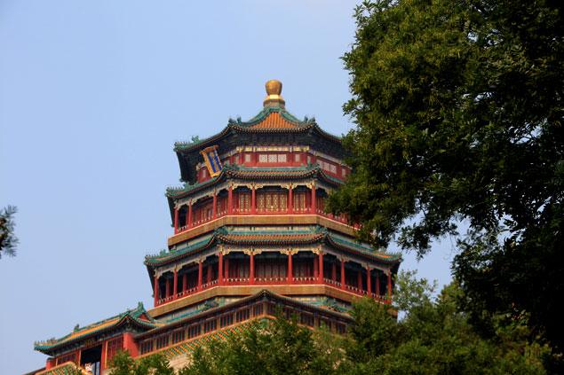 Templo en la Colina de la Longevidad