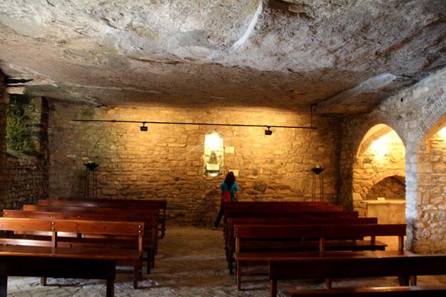 Iglesia en la roca
