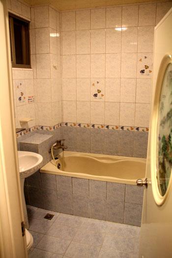 Baño del hotel