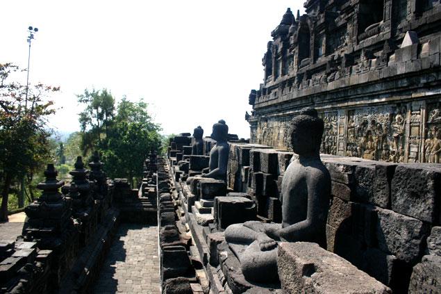 Budas en Borobudur