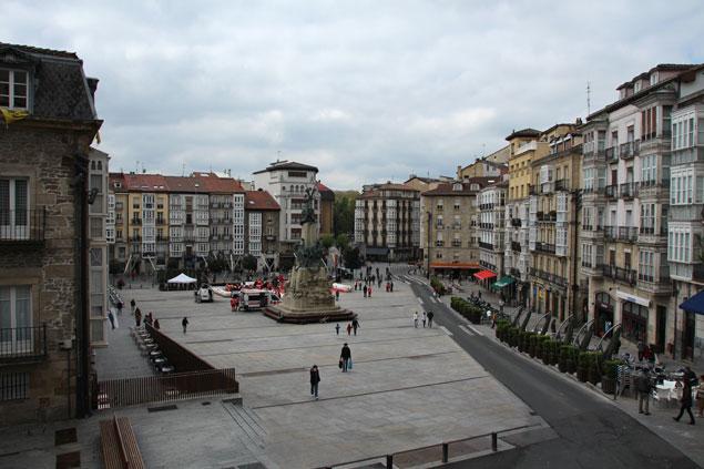 Plaza de la Vírgen Blanca