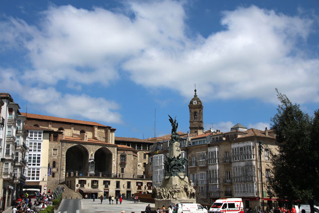 Plaza Vieja de Vitoria
