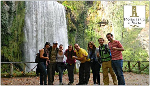 El equipo del #bcnTBmonasterio , imagen de Carla Llamas