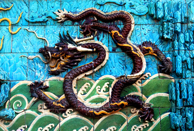 Colorido en el muro