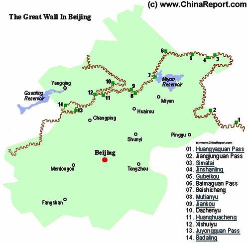 Puntos cercanos a Pekin