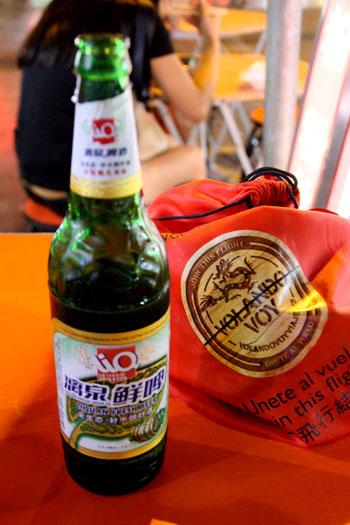 Cerveza Liq en Guilin