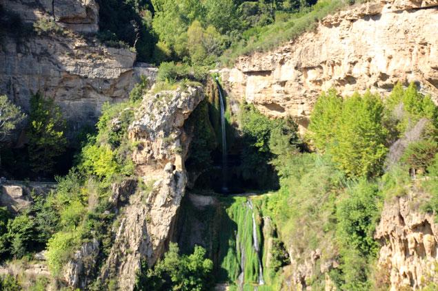 Cascada en Sant Miquel