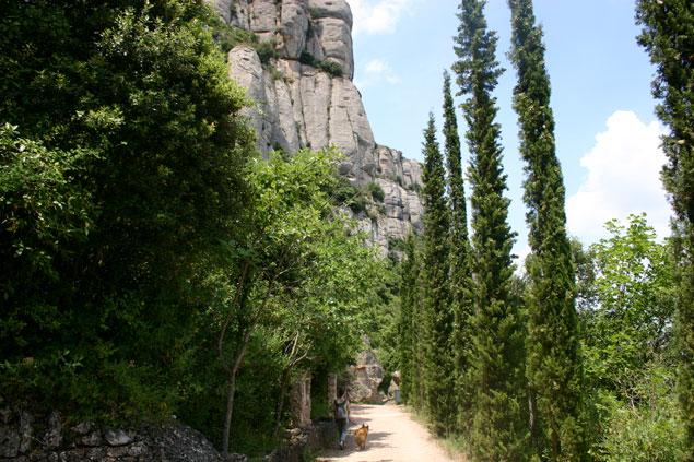 Camino por Montserrat