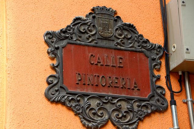 Calle Pintoreria