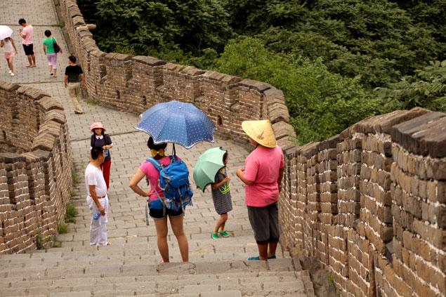 Turistas locales