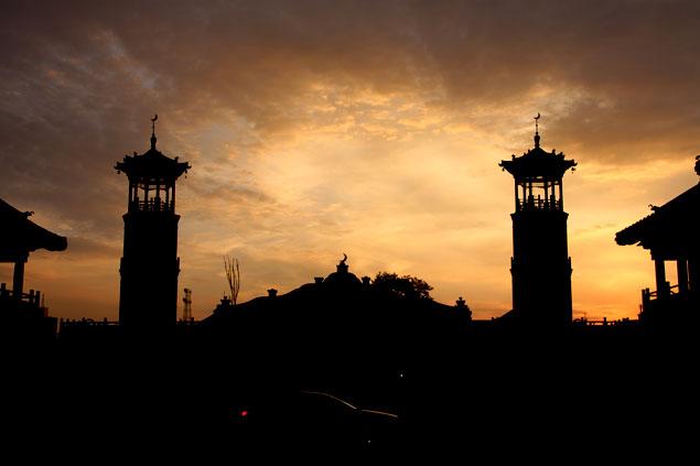 atardecer en la Mezquita