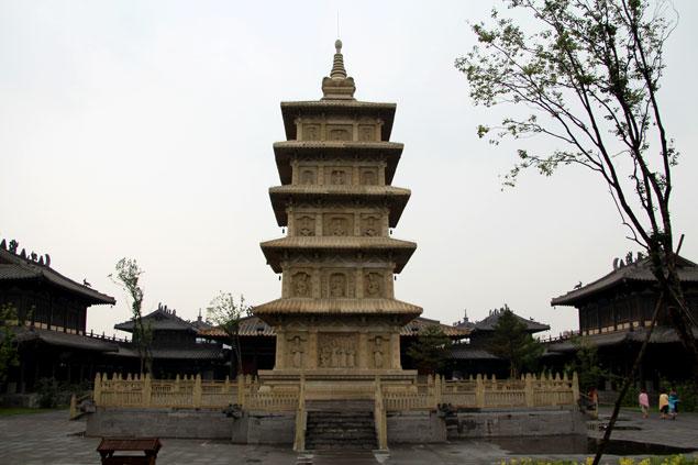 Santuario dentro del recinto