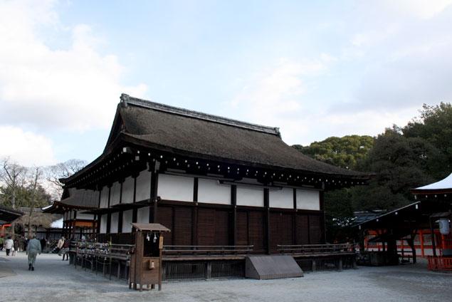 Uno de los pabellones del monasterio