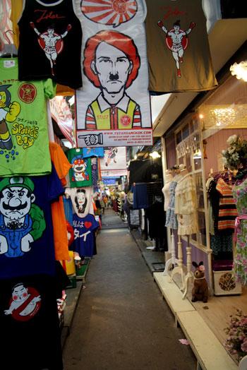Tiendas del mercado Chatuchak