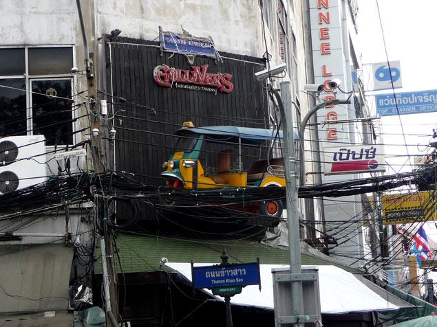 Zona de Khao San Road