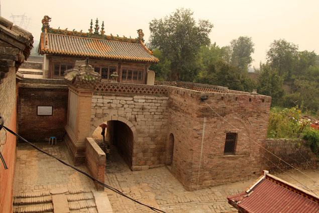 Exterior del Castillo de Zhangbi