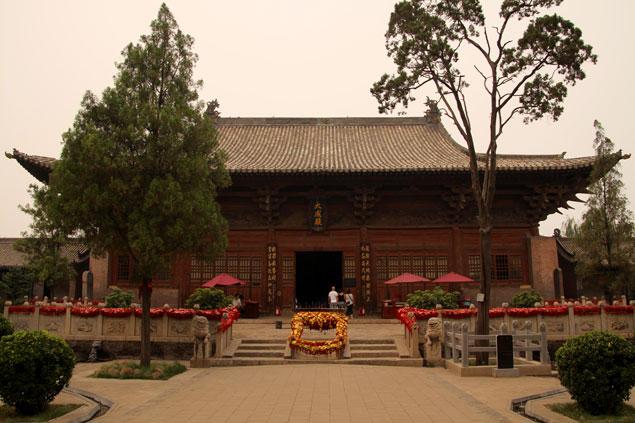 Uno de los pabellones principales