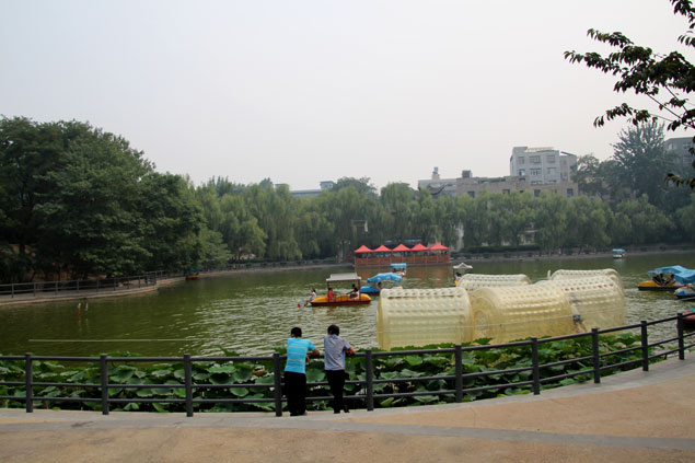 Lago del parque Lianhu