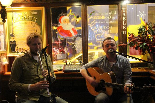 Músicos irlandeses