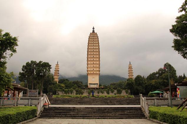 Templo de las Tres pagodas
