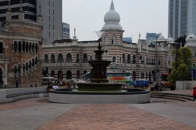 Que ver en Kuala Lumpur (Plaza Merdeka)