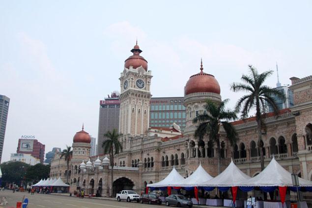 Edificio del Sultán Abdul Samat