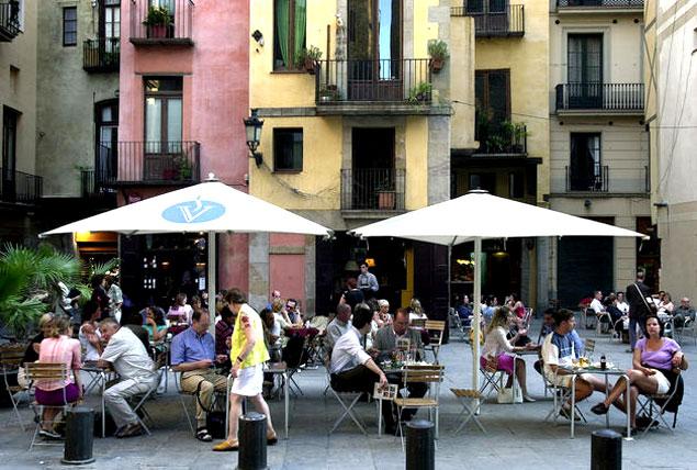 Terraza de Barcelona