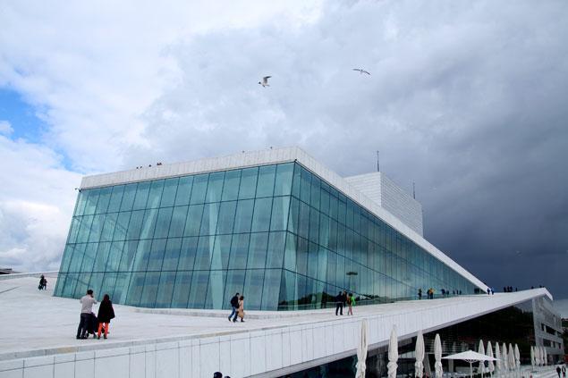 Edificio de Opera de Oslo