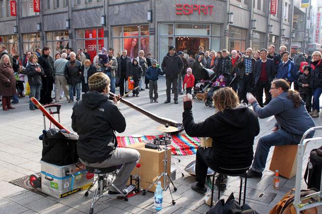 Actuaciones en la calle