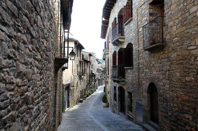 Calles de Ainsa