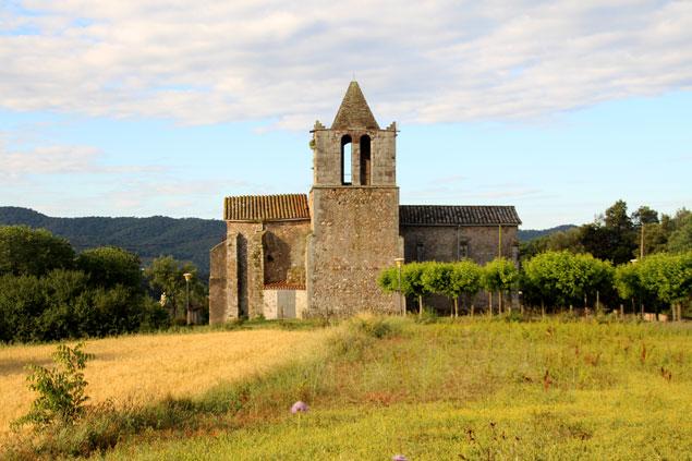 Iglesia de San Joan de Sanata del siglo XII