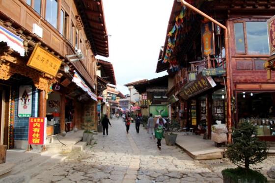 Shangri-La ancient Town , itinerario por China
