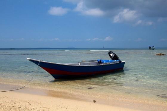 Playa de las islas perenthian ,itinerario por Malasia
