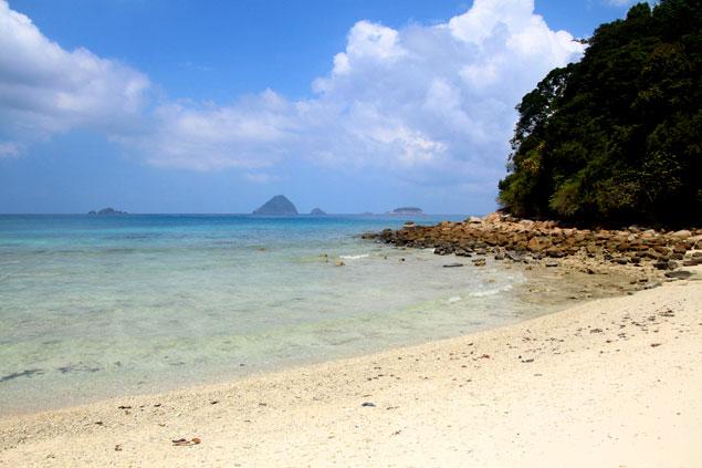 Playa Solitaria (que hacer en las islas Perhentian)