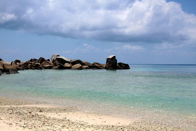 Playa desierta en islas Perhentian