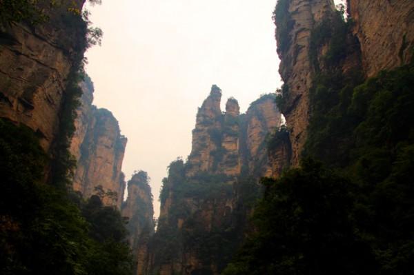 Vistas desde el pueblo (Zhangjiajie