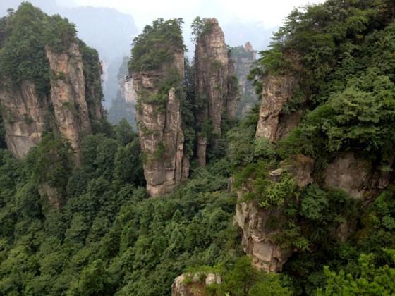 Un paisaje de ensueño , itinerario por China