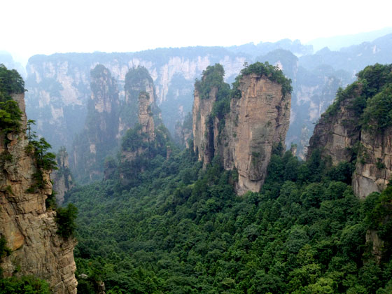 Parque natural de Zhangjiajie , maravilla única