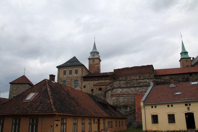 Las dos torres coronan la fortaleza