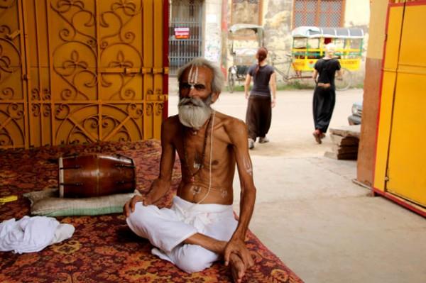 Tierra de yogis y gurus
