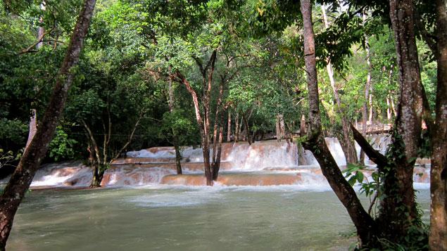 Cascadas de Tat Sae
