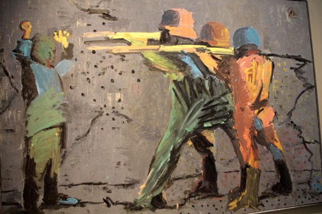 """Pintura en los """"desastres de la guerra"""""""