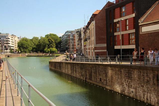 Canales de la ciudad