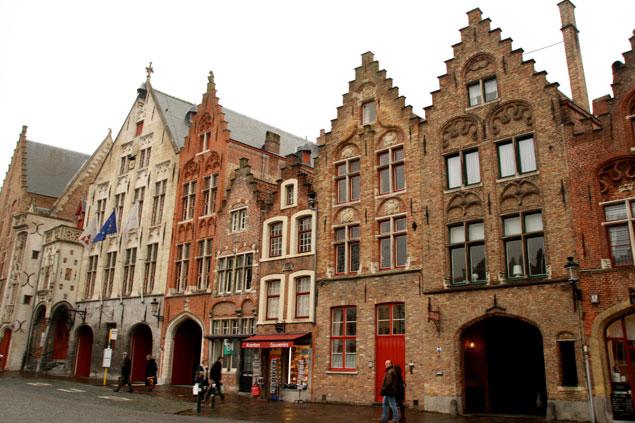 Edificios típicos de Flandes