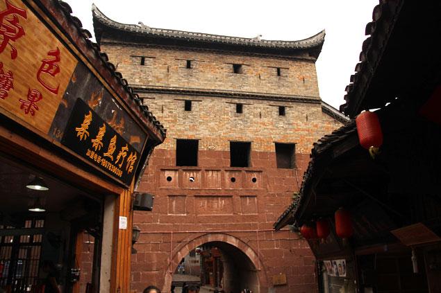 Puerta norte de la muralla