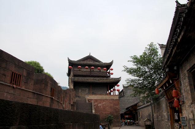 Calles tras las murallas