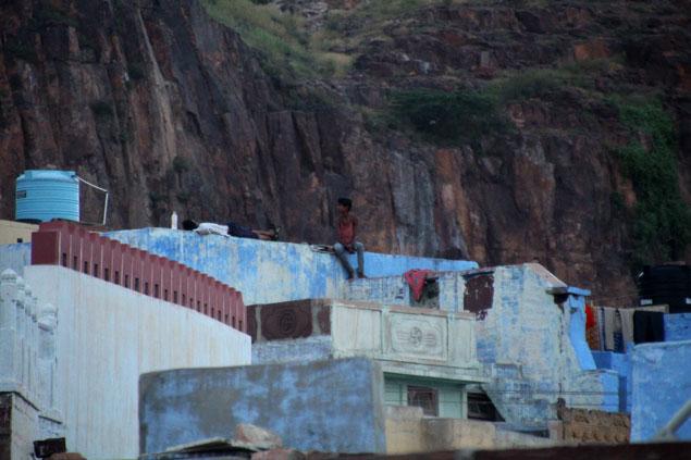 Azoteas de Jodhpur, la ciudad azul