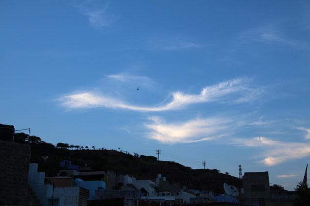 Cometa por el cielo