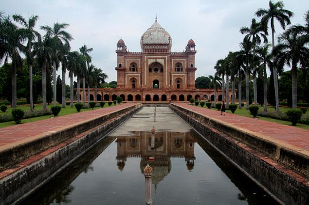 Similar al Taj Mahal