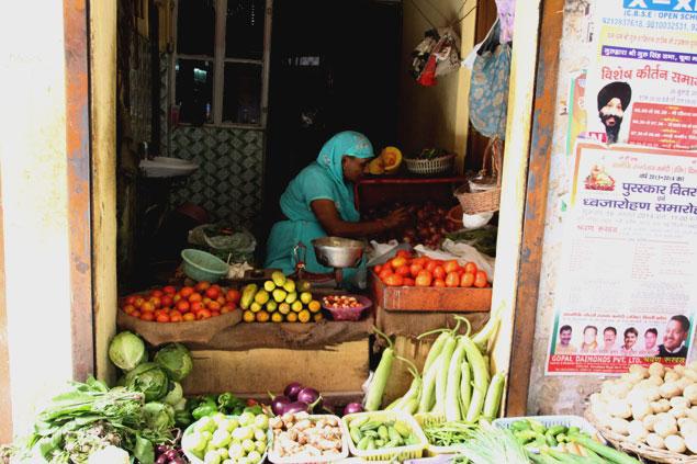 Fruteria del mercado